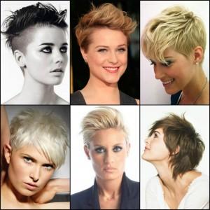 cortes de pelo corto para chica - Pelos Cortos Modernos