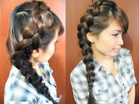 Braided Hairstyles For Black Girls To The Side