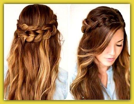 Peinados lindos y simples - Peinados para bodas faciles de hacer en casa ...