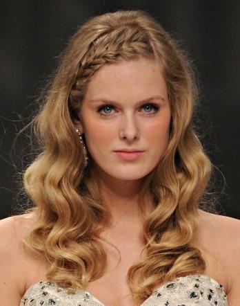 Peinados para pelo suelto largo - Peinados de fiesta cabello largo ...