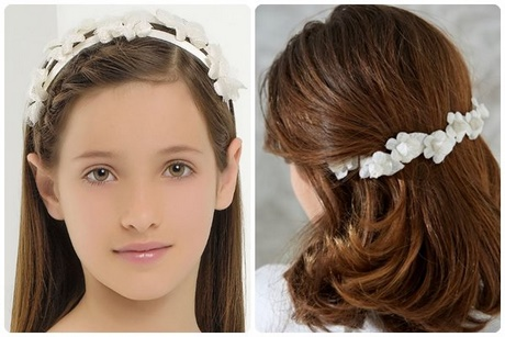 Peinados sencillos con diadema - Peinados sencillos para comunion ...