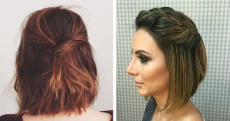 Peinados Sencillos Y Elegantes Para Cabello Corto