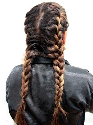 Trenzas de moda - Que peinados estan de moda ...