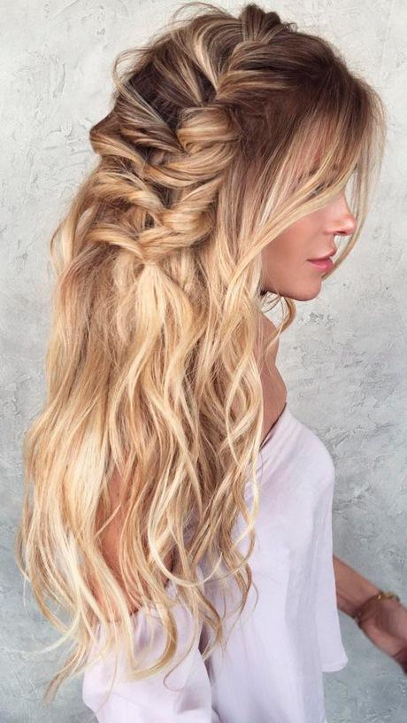 Peinados Lindos Con Cabello Suelto