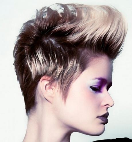 Especial peinados punk mujer Imagen de cortes de pelo tutoriales - Cortes de pelo punk