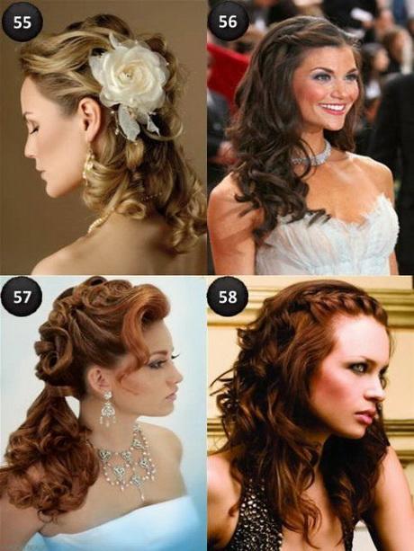 Bonito y cómodo peinados de boda pelo largo Imagen de ideas de color de pelo - Peinados boda pelo largo