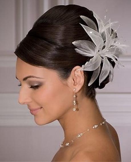 Las mejores variaciones de peinados sencillos para boda Imagen de tutoriales de color de pelo - Peinados bonitos para boda