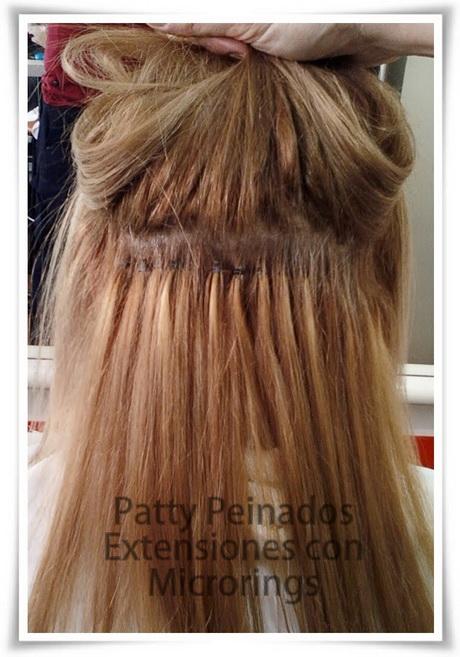 Diferentes versiones peinados con extensiones Fotos de las tendencias de color de pelo - Peinados con extensiones
