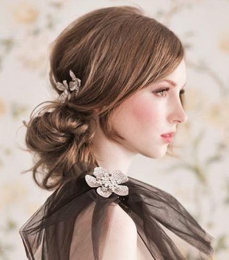 Formas de moda también peinados boda de dia Imagen De Consejos De Color De Pelo - Peinados con tocado para boda de dia