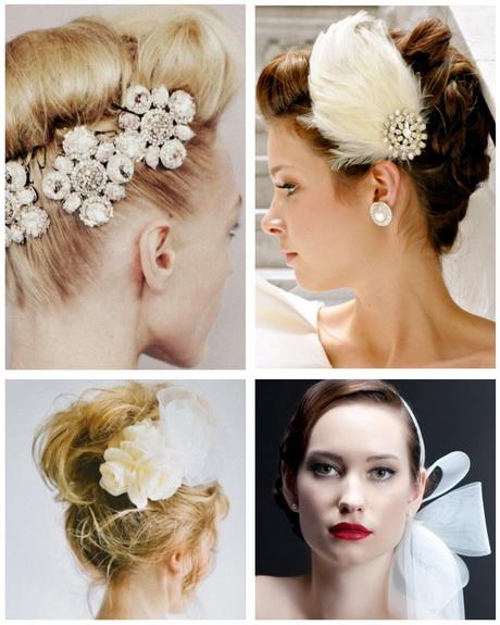 Banging peinados con tocados Fotos de las tendencias de color de pelo - Peinados con tocados para boda