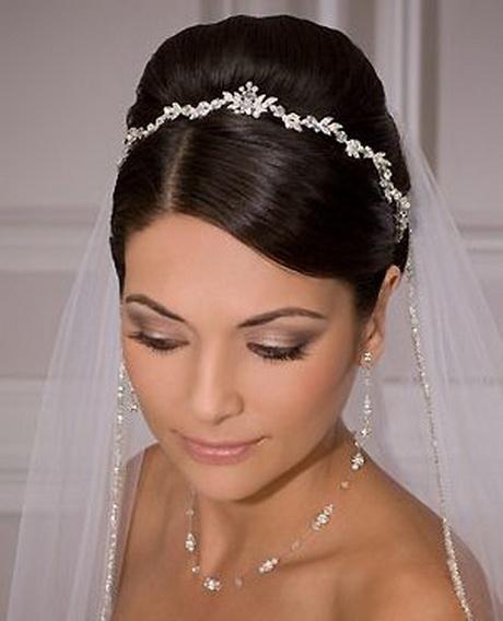 Ideas de estilo para peinados con velo Imagen de cortes de pelo Ideas - Peinados con velos de novia