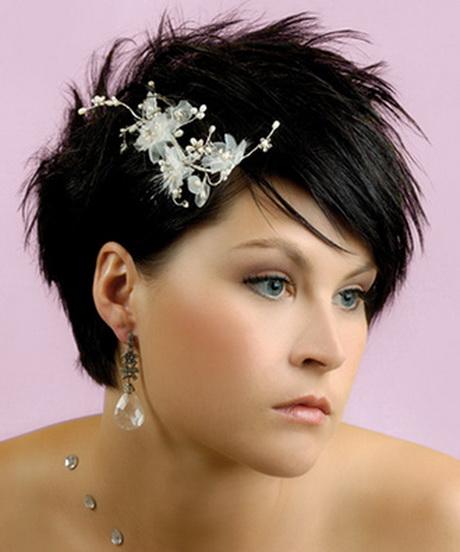 Lo más universal peinados de madrina pelo corto Galería de ideas de coloración del cabello - Peinados de bodas para pelo corto