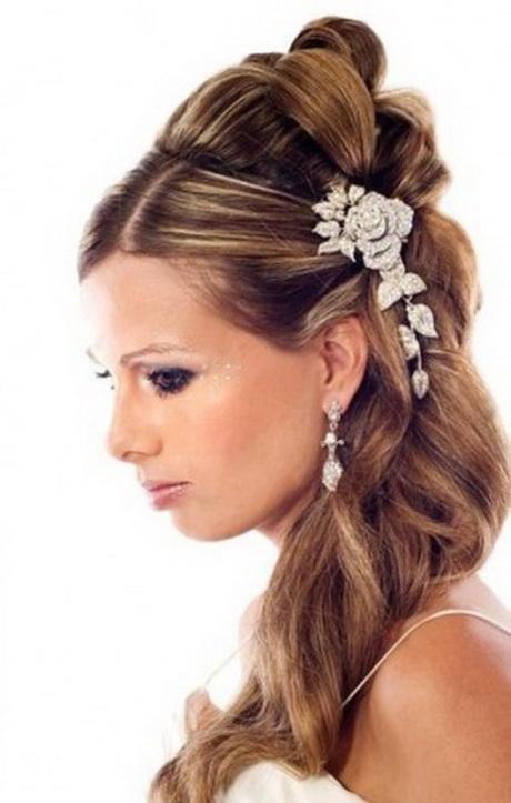 Oportunidades impresionantes peinados con peinetas Colección De Tutoriales De Color De Pelo - Peinados de novia con peineta