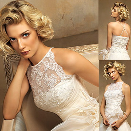 Creativo peinados de novia media melena Fotos de tendencias de color de pelo - Peinados de novia media melena