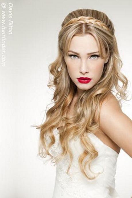 Lindo y sin esfuerzo peinados pelo largo suelto Imagen De Cortes De Pelo Tendencias - Peinados de novia pelo largo suelto