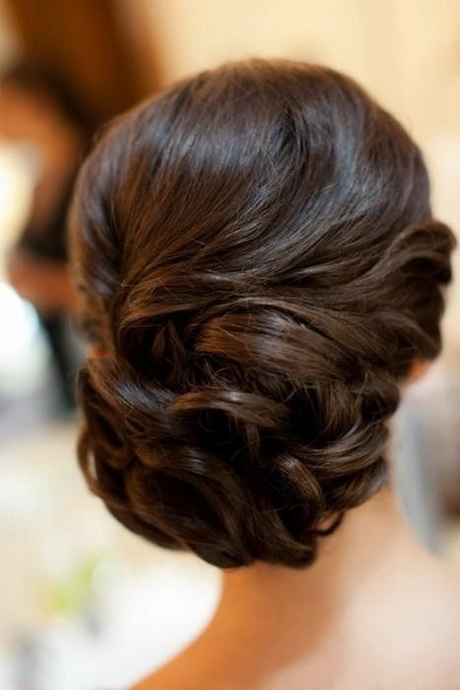 Miradas ganadoras con peinados novia recogidos bajos Imagen De Tendencias De Color De Pelo - Peinados de novia recogidos bajos