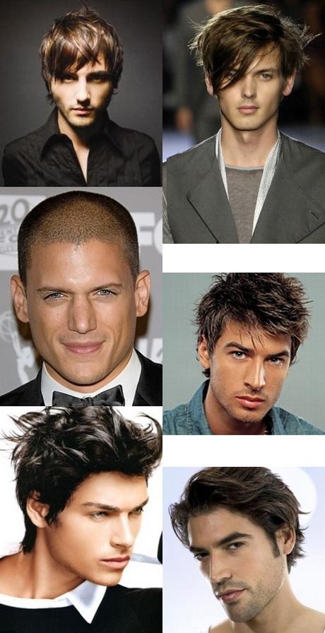 Clásico y sencillo peinados masculinos Fotos de tendencias de color de pelo - Peinados masculinos de moda