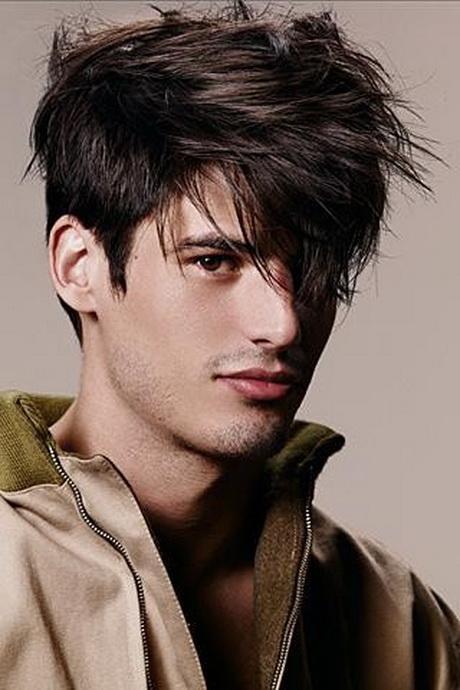 Hermoso peinados chico pelo largo Fotos de cortes de pelo estilo - Peinados para hombres pelo medio largo