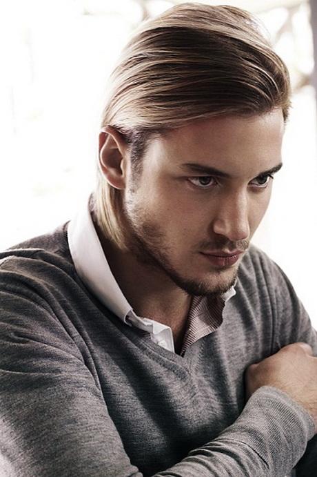 Atrevido y bonito peinados hombre pelo largo Imagen de ideas de color de pelo - Peinados para hombres pelo medio largo