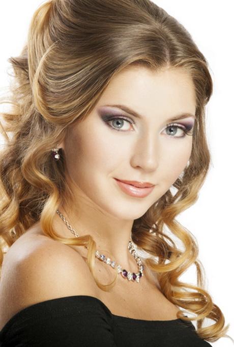 Elegante peinados para ir a una boda Imagen De Tendencias De Color De Pelo - Peinados para ir a una boda de noche