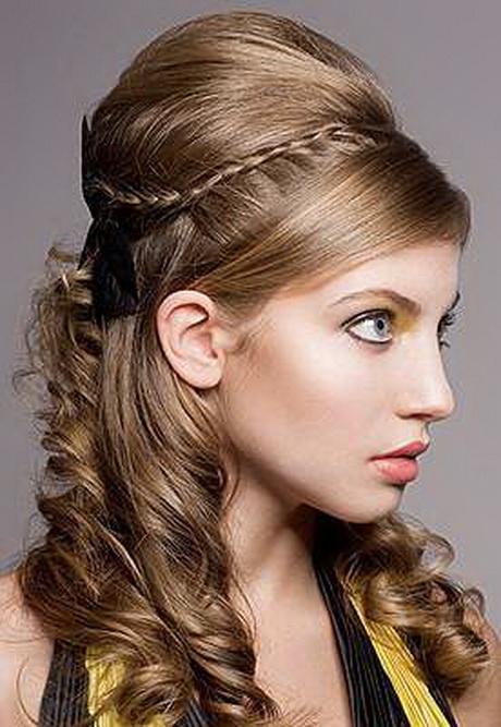 Diferentes versiones peinados pelo medio Imagen de cortes de pelo tutoriales - Peinados para pelo medio largo mujer