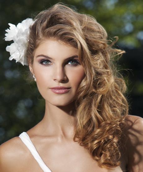 Miradas ganadoras con peinados semi recogido Fotos de los cortes de pelo de las tendencias - Peinados semi recogido