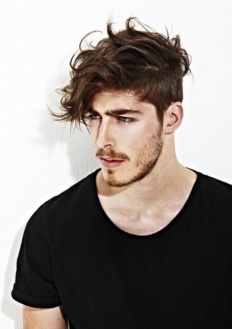 Instrucciones peinados flequillo hombre Colección de tendencias de color de pelo - Peinados con flequillo para hombres