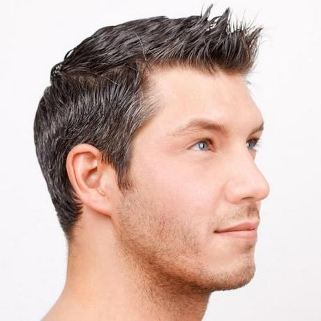 Peinados con pelo corto hombre