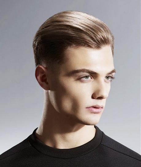 Lindo y sin esfuerzo peinados corto hombre Galería de cortes de pelo Ideas - Peinados hacia atras para hombres