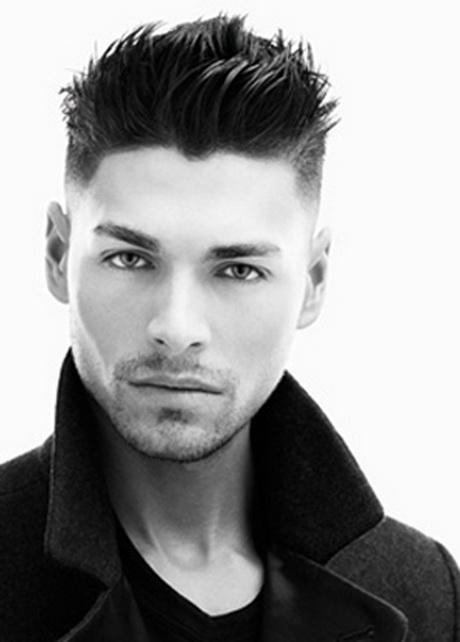 De moda peinados entradas Imagen de estilo de color de pelo - Peinados para hombres con entradas