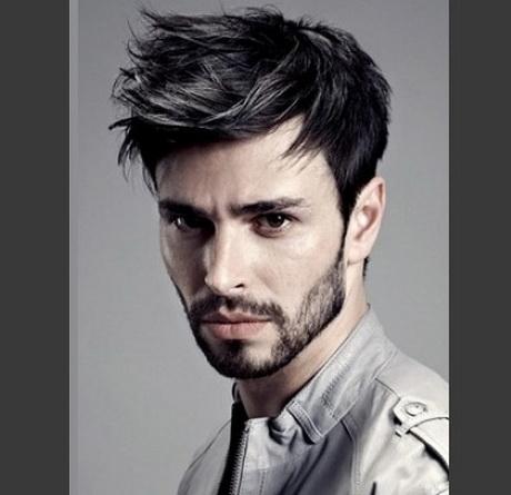 Clásico y sencillo peinados rockeros hombre Fotos de las tendencias de color de pelo - Peinados rockeros para hombres