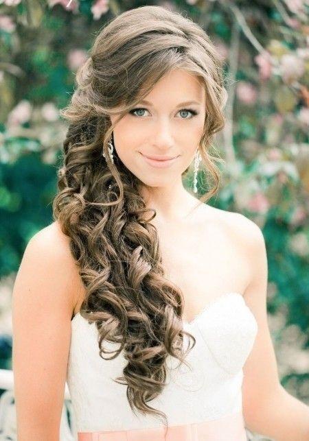 De moda peinados de lado Colección de estilo de color de pelo - Peinados de xv de lado