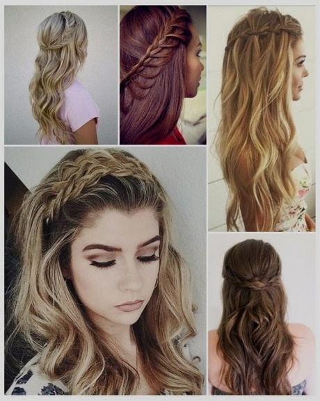 Minimalista peinados sencillos pelo suelto Imagen de estilo de color de pelo - Peinados sencillos 2018
