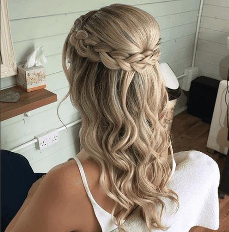 Más notable peinados 2021 para bodas Imagen de cortes de pelo estilo - Peinados para ir a una boda 2019