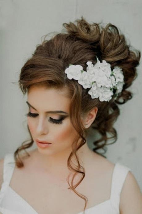 Bonito y cómodo peinados elegantes para boda Fotos de tendencias de color de pelo - Peinados para bodas de noche 2018