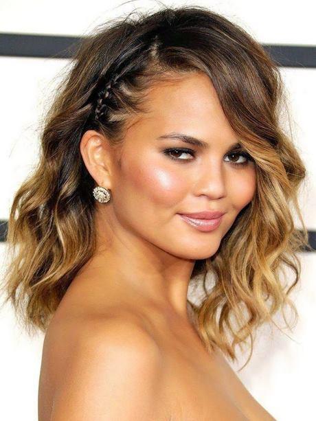 Formas de moda también peinados media melena rizada Fotos de consejos de color de pelo - Peinados media melena rizada 2020