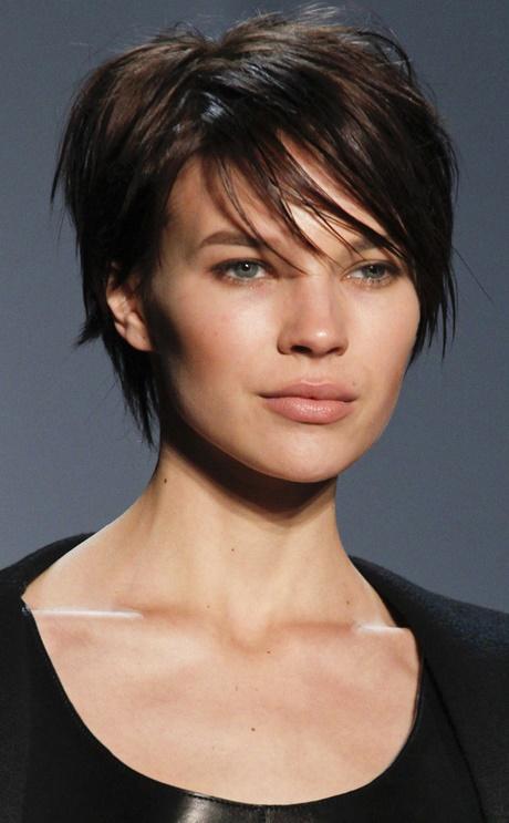 Bonito y cómodo peinados pelo corto mujer Imagen de cortes de pelo consejos - Peinados cortos de mujer modernos