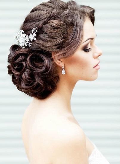 Impresionante peinados para boda de noche Galería de tendencias de coloración del cabello - Peinados elegantes para boda noche