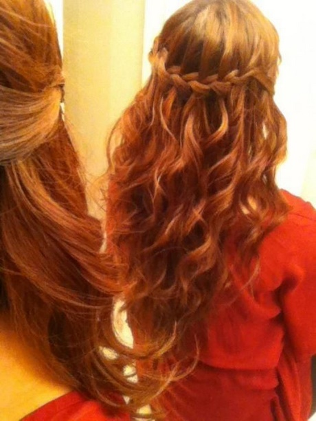 Oportunidades impresionantes peinados medio recogido Galería de cortes de pelo estilo - Peinados medio recogido con trenzas