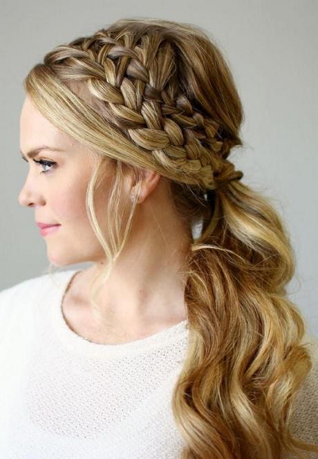 Más notable peinados sencillos para bodas Fotos de cortes de pelo tutoriales - Peinados para fiesta sencillos semirecogido