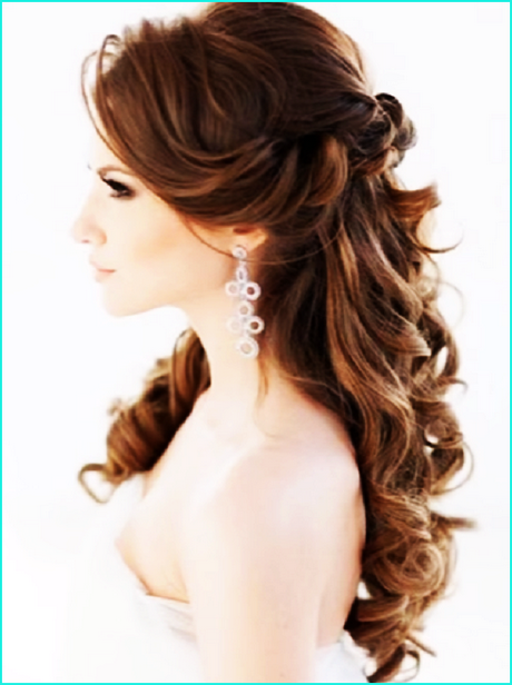 Elegante peinados para boda de noche Imagen de estilo de color de pelo - Peinados para ir a bodas de noche