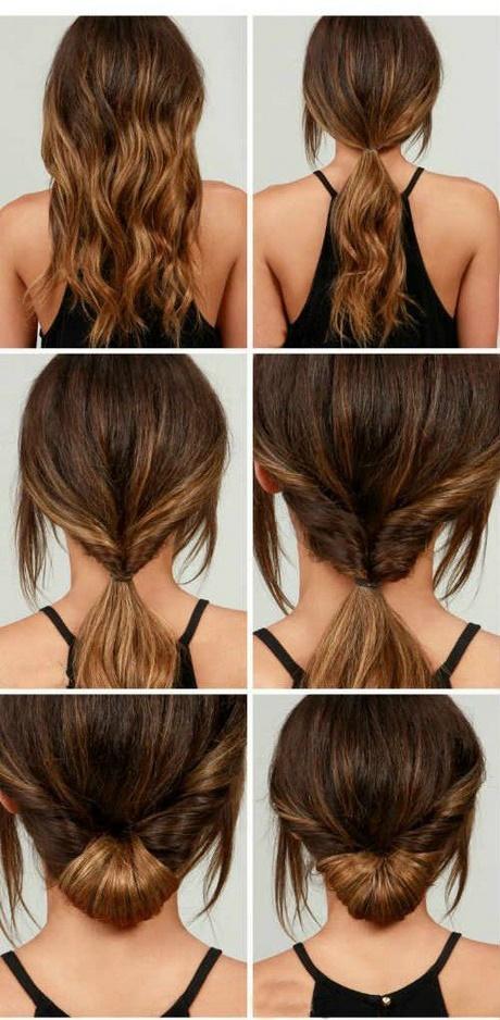 Más notable peinados recogidos sencillos Colección de tendencias de color de pelo - Peinados sencillos para cabello largo recogido