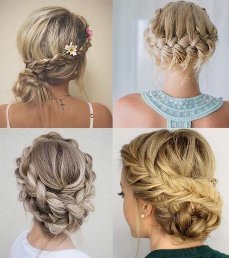Lindo y sin esfuerzo peinados invitada boda pelo largo Galería de ideas de coloración del cabello - Recogido boda invitada