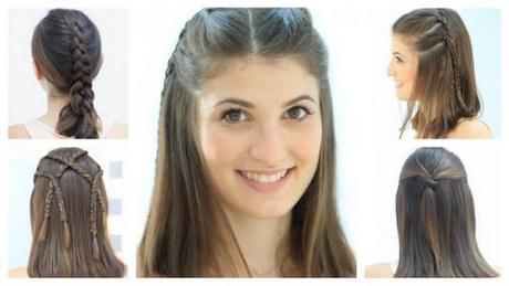 Bonito y cómodo peinados de mujer Imagen de ideas de color de pelo - Todo tipo de peinados para mujeres