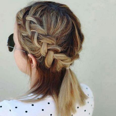 Especial peinados con trenzas pelo corto Colección de estilo de color de pelo - Trenzas para cabello corto