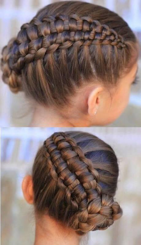 En una tendencia ascendente peinados bonitos y faciles Imagen de cortes de pelo tutoriales - Peinados bonitos con trenzas para niñas