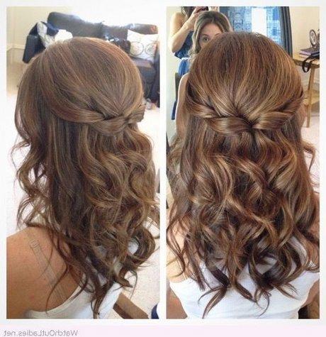 Más notable peinados de novia media melena Galería de cortes de pelo Ideas - Peinados mujer 2018 media melena