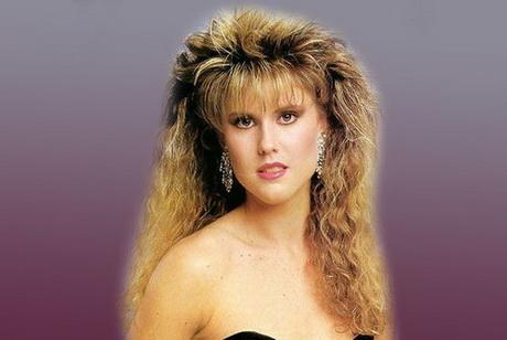 De moda peinados años 80 Imagen De Tendencias De Color De Pelo - Peinados años 80