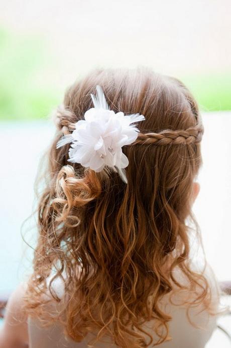 Fabuloso peinados niñas boda Colección De Tutoriales De Color De Pelo - Peinados para ninas para boda