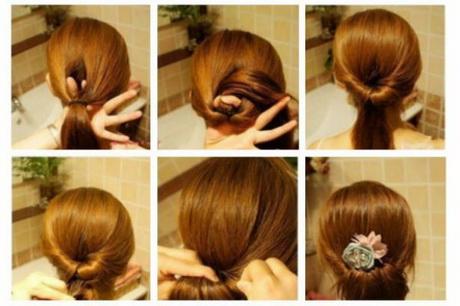 Varios peinados peinados faciles para niñas paso a paso Fotos de cortes de pelo tendencias - Peinados sencillos de hacer paso a paso